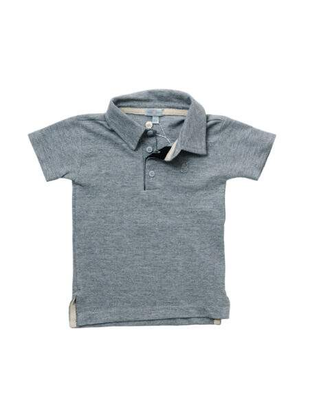 Camisa Polo London Cinza