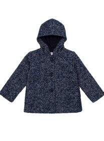 Bow Coat Azul