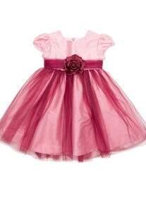 Vestido Rosa Tule Vinho