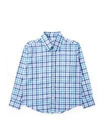 Camisa Poplin Squares