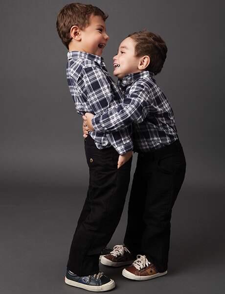 Batas e Camisas para os Meninos