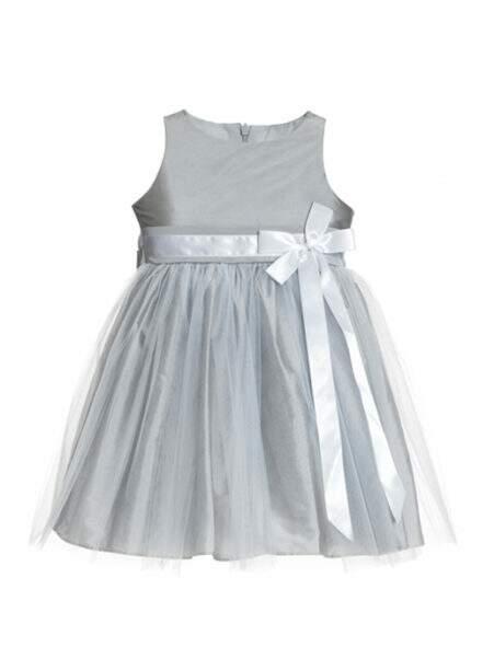Vestido Plomo Prata